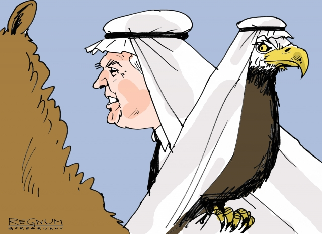 Bloomberg: Эр-Рияд ошибочно выдает свой союз с Трампом за союз с США