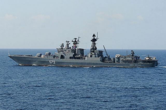 Корабли Тихоокеанского флота проводят совместные учения с ВМС Филиппин