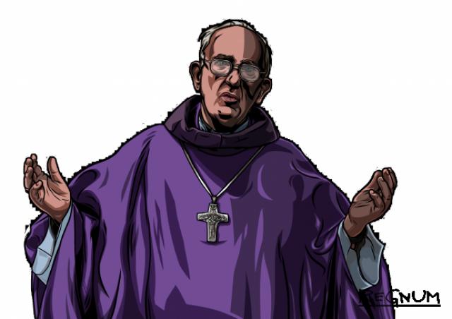 Где находится центр заговора против папы Франциска?
