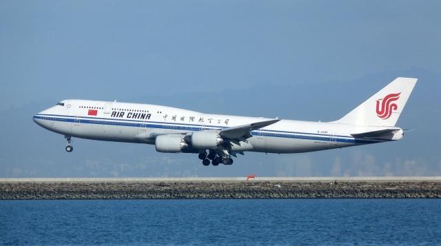 Самолёт авиакомпании Air China