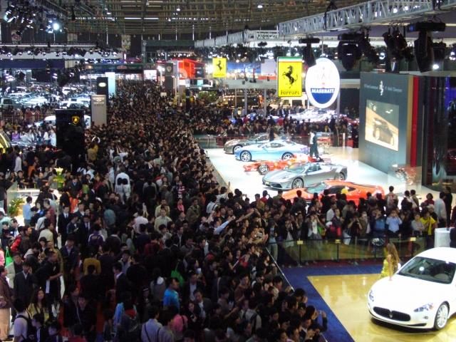 Международный автосалон пройдет в Шанхае с 18 по 25 апреля
