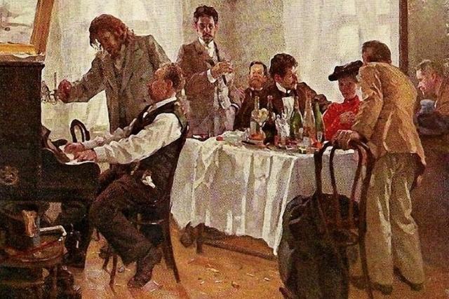 Лукиан Попов. Своя компания. 1904