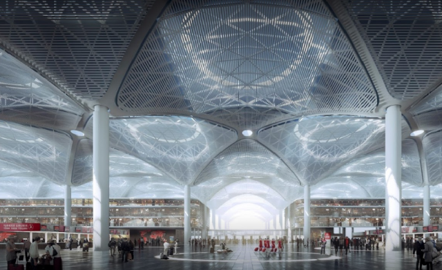 Новый аэропорт Стамбула за 5 дней принял более 600 тысяч пассажиров
