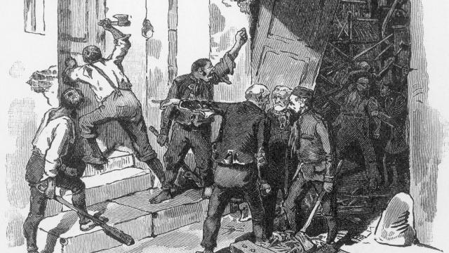 Бунтующие луддиты. XIX век