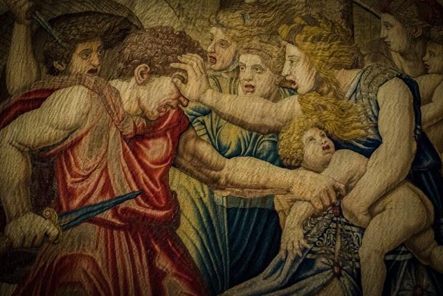 Питер ван Альст. Гобелен «Избиение младенцев». 1531