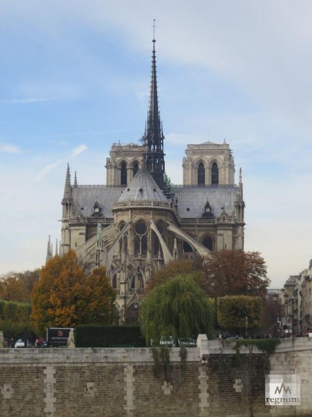 Собор Парижской Богоматери до пожара