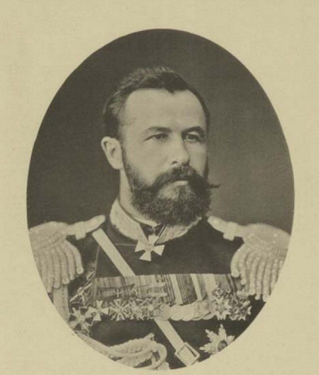 Генерал-майор А. Н. Куропаткин