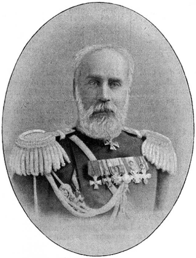 Подполковник А. П. Протопопов