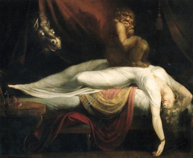 Учёные назвали причину ночных кошмаров