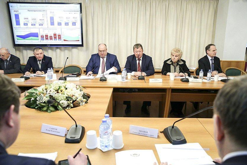 «Круглый стол» комитет по аграрным вопросам ГД РФ