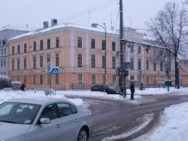 Здание департамента охранной полиции Эстонии. Таллин