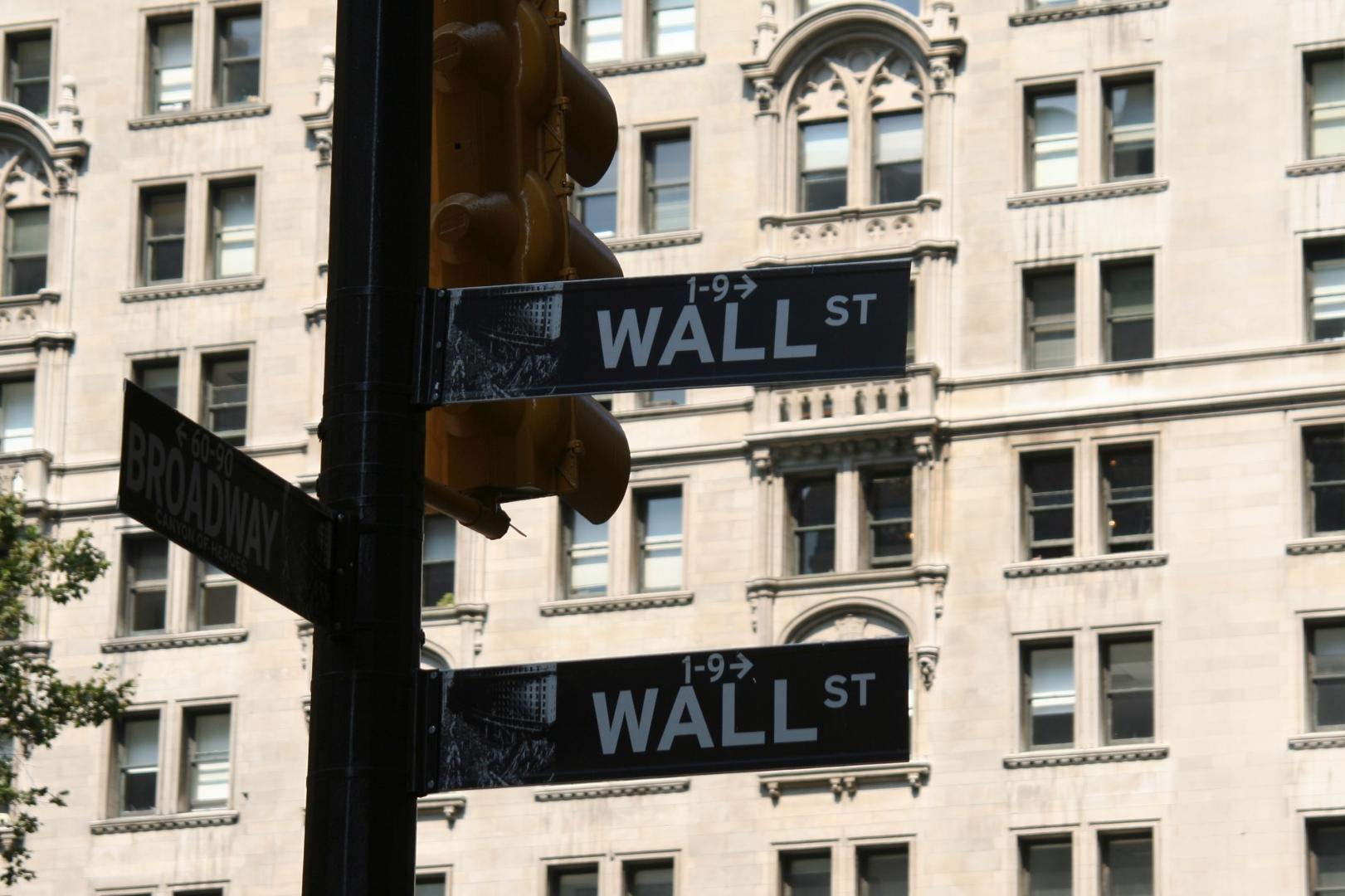 Указатель «Уолл-стрит»