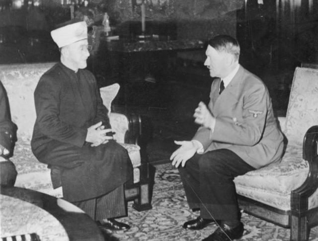 Мухаммад Амин аль-Хусейни и Адольф Гитлер. 1941