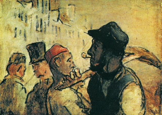 Оноре Домье. Рабочие
