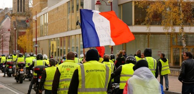 Протестная акция во Франции собрала 28 тыс. человек