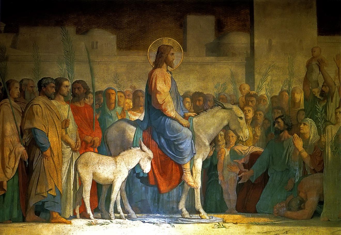 Вход господний в иерусалим картинки