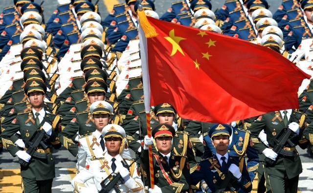 Народно-освободительная армия Китая. Парад в Москве. 9 мая 2015