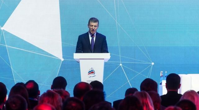 Дмитрий Козак в Ялтиннском форуме
