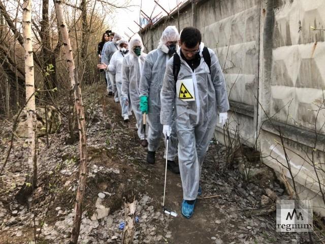 Радиация на пути будущей Москвы: дозиметр показал в Москве свыше тысячи мкР