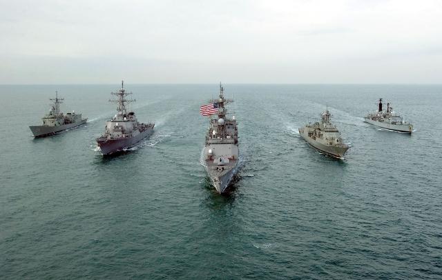 Пятый флот ВМС США в Персидском заливе