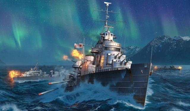 """Советские линкоры и """"Победа"""": новое обновление World of Warships"""