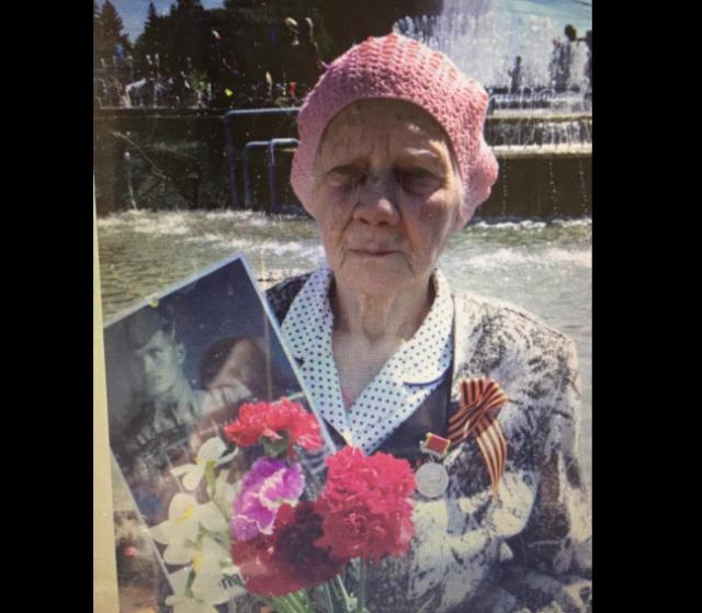 Узница фашистского концлагеря, 93-летняя МарияКаштанова