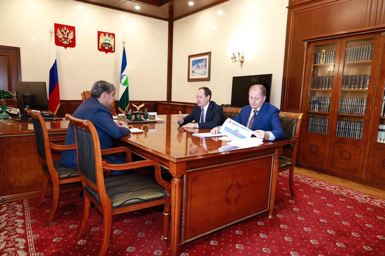 Гендиректор «Россетей» и глава КБР обсудили программу снижения потерь