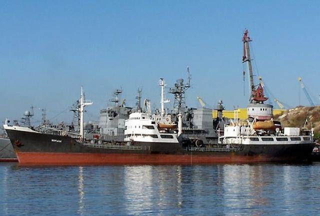 Пункт материально-технического обеспечения (ПМТО) флота России в сирийском порту Тартус