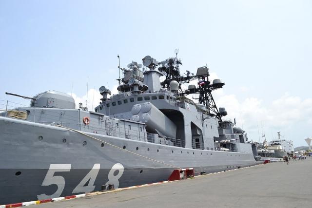 Противолодочный корабль «Адмирал Пантелеев»