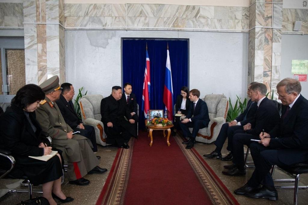 Встреча корейской делегации