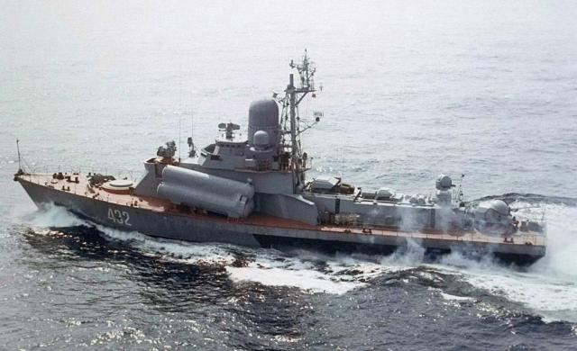 ВМФ России проводит модернизацию малых ракетных кораблей типа «Овод»
