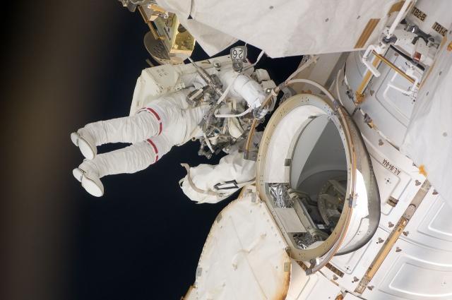 На МКС произошёл сбой в системе очистки воздуха