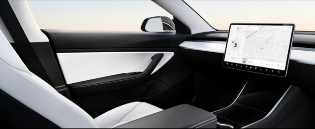 Tesla self driving without a steering wheel