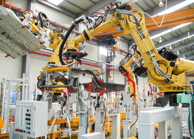 Продажи промышленных роботов в Китае взлетели на 15% в 2018 году