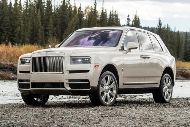Продажи Rolls-Royce в России выросли на 85%