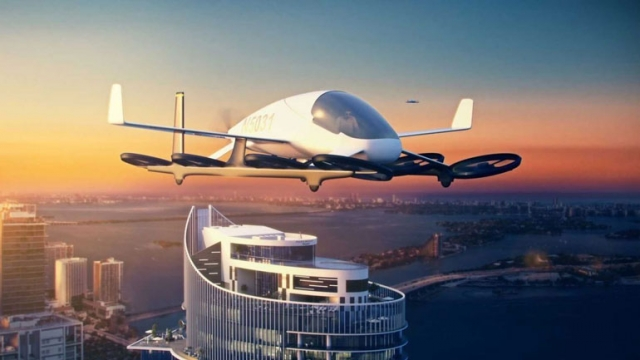 В Майами появится площадка для летающих автомобилей