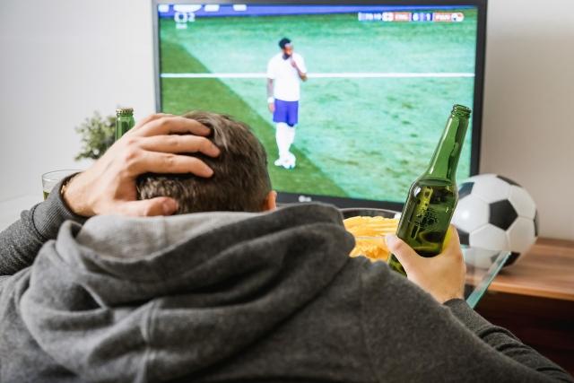 Матч по телевизору