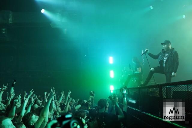 Концерт группы In Flames в A2