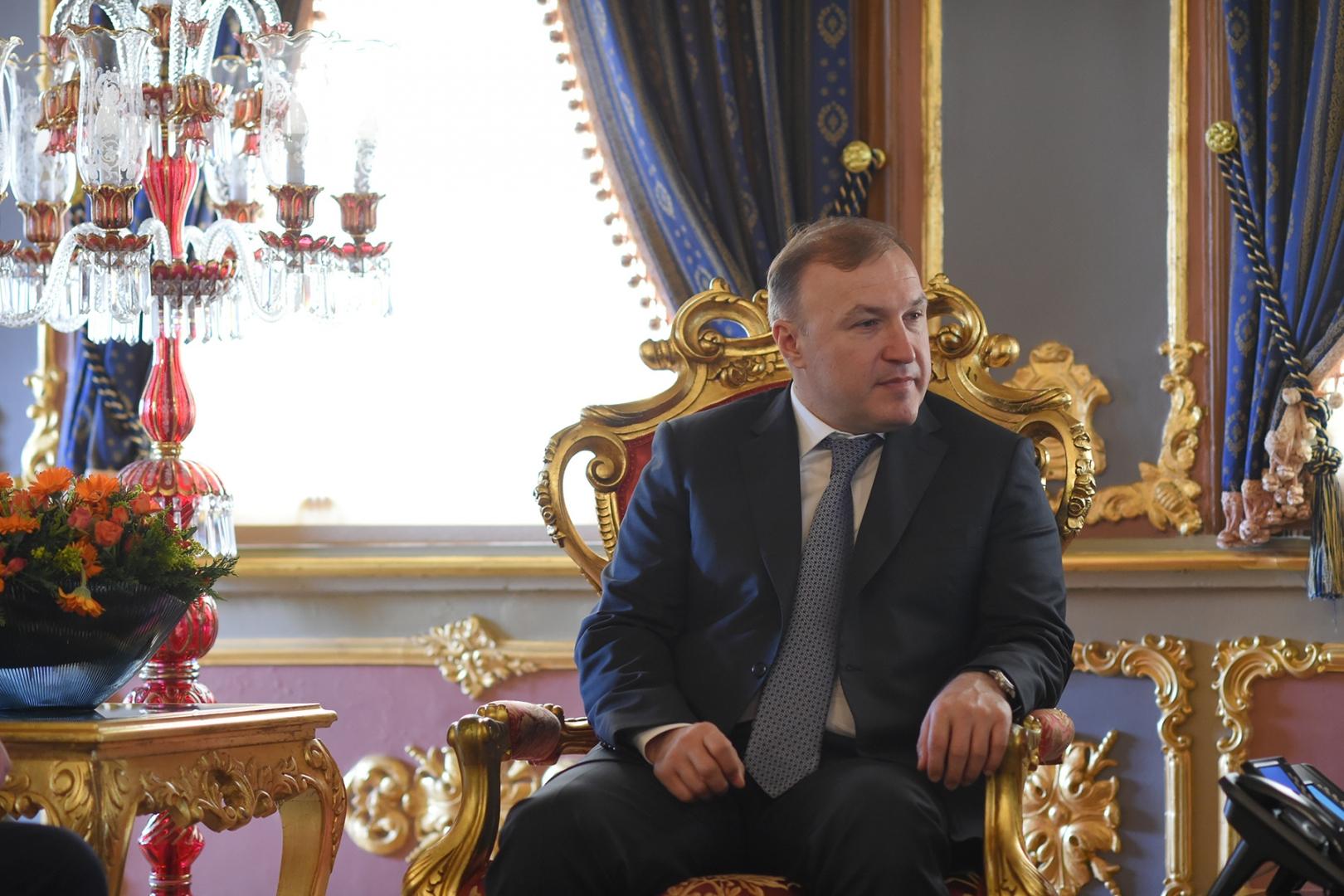 Глава Адыгеи Мурат Кумпилов на встрече с руководством Стамбула