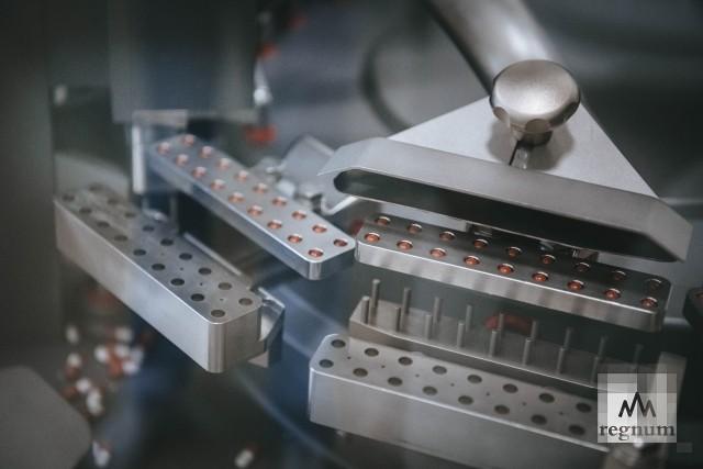 Этапы производства препарата долутегравир