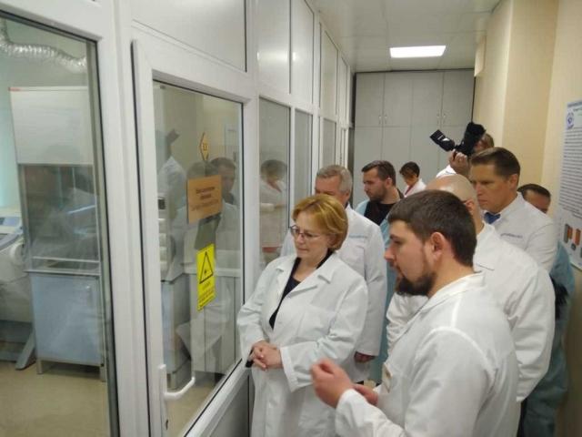 Министр Вероника Скворцова посетила с рабочим визитом Ростов-на-Дону
