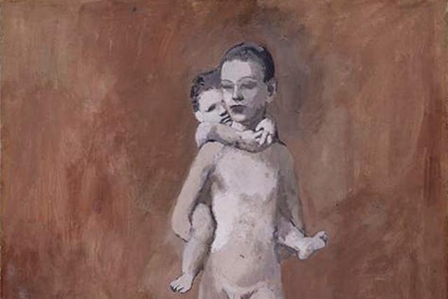 Пабло Пикассо. Два брата (фрагмент). 1906