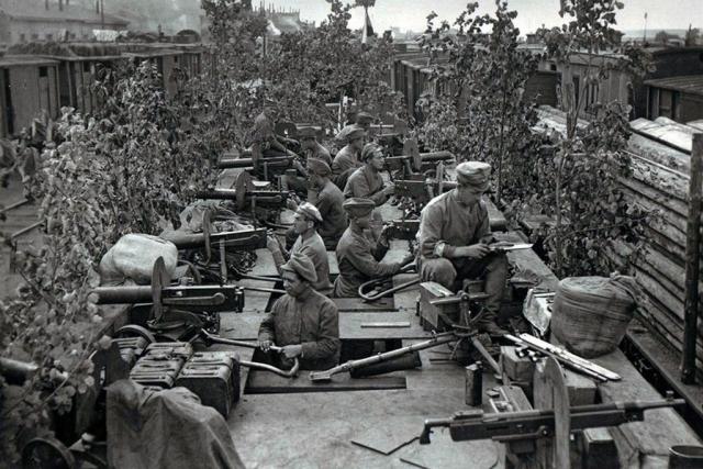 Бронепоезд «Орлик». Пензенская группировка чехословаков. Уфа, июль 1918 года