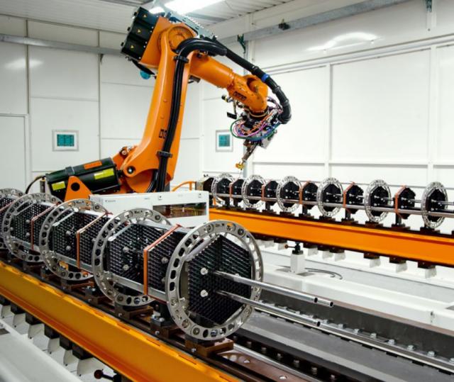 Производство топливных кассет энергетического атомного реактора