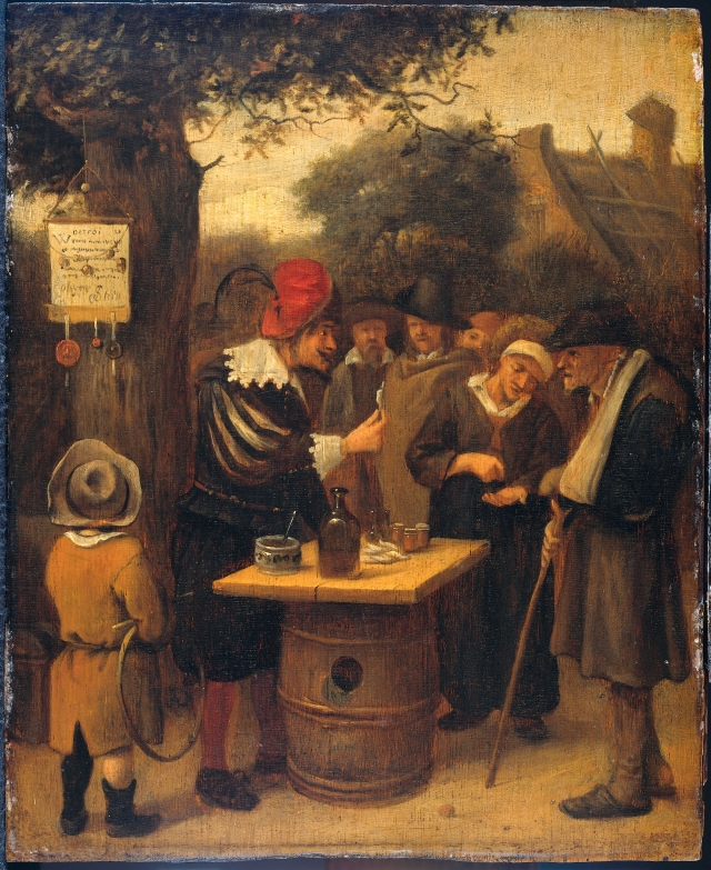 Ян Стен. Шарлатан. 1679