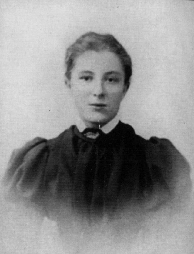 Вера Абрамова (Гриневская) — первая жена А. Грина, жившая с ним в ссылке в Пинеге