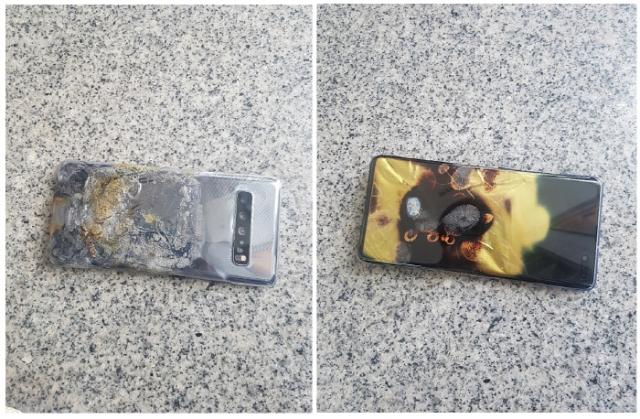 Воспламеняющийся смартфон Galaxy S10 5G : миф или реальность?