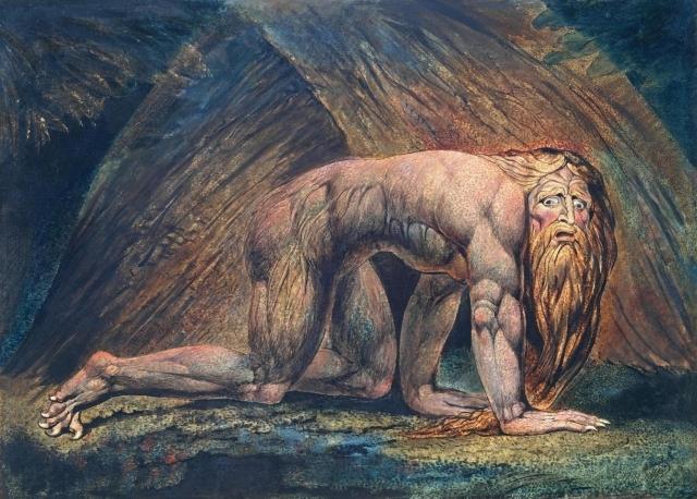 Уильям Блейк. Навуходоносор
