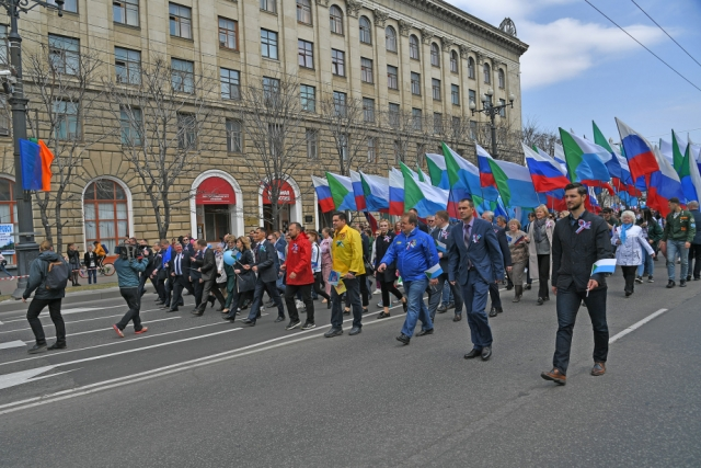 Хабаровск 1 мая