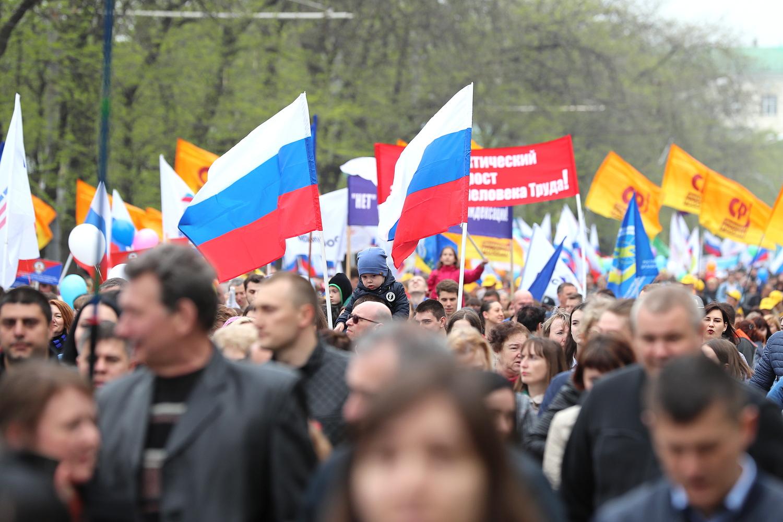 В шествии приняли участие 15 тыс. человек